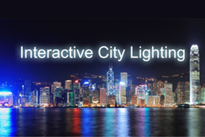 We present at Interactive City Lighting, CHI´13, Paris 27th of April 2013